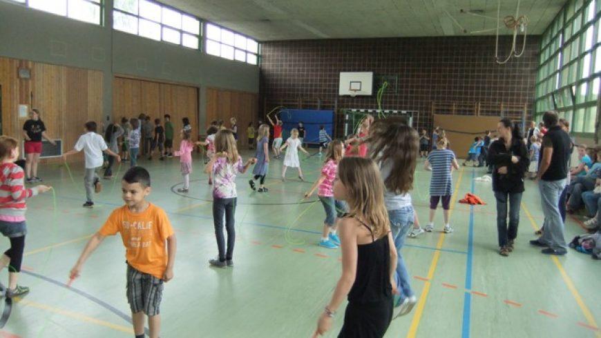 Skipping Hearts der Deutschen Herzstifung bei uns zu Besuch
