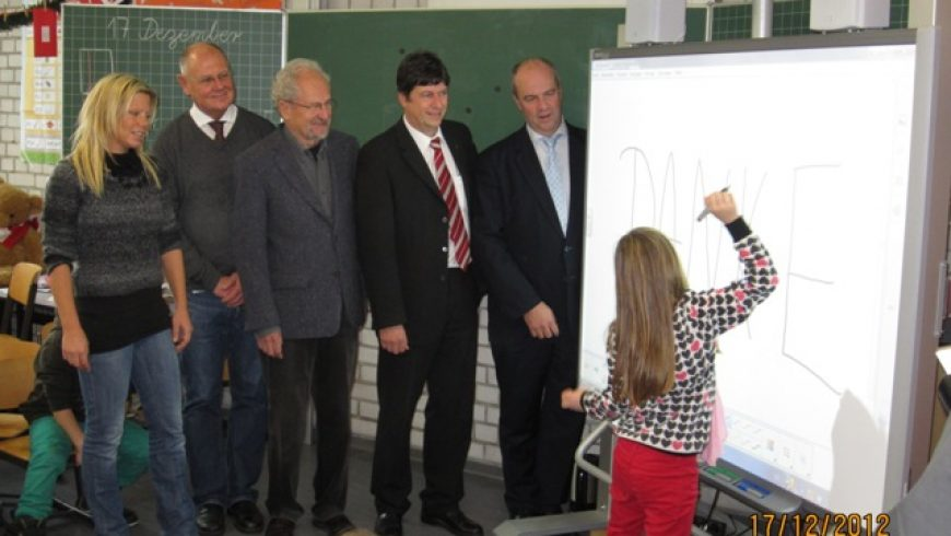 Smart-Board-Präsentation