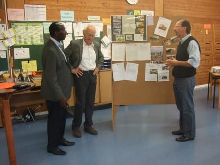 Besuch aus Ruanda