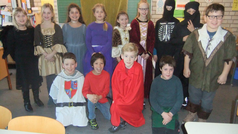 Mittelalterliches Spektakel zu Fasnacht